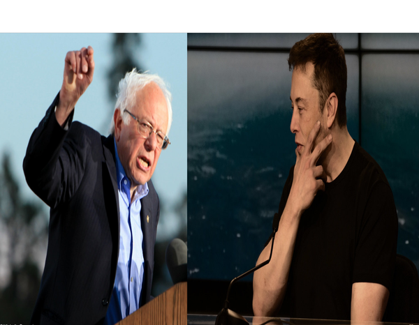 Elon Musk Trolls Bernie Sanders In Response To One of Bernie's Classic Marxist Tweets Accusing Him of Being Greedy and Immoral