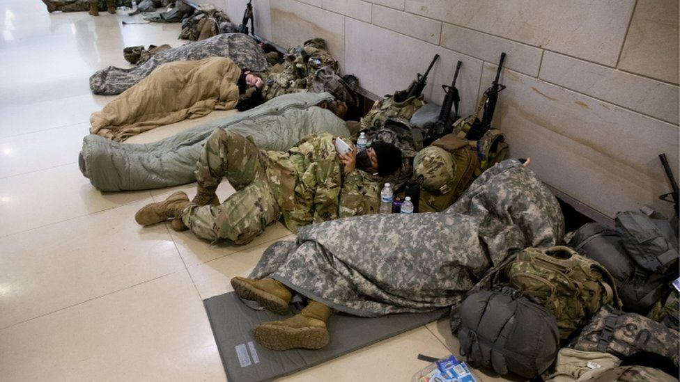 Newsmax Reporter Presses Psaki To 'Square' National Guard Sleeping In Parking Garage While Illegal Immigrants Get Hotel Rooms