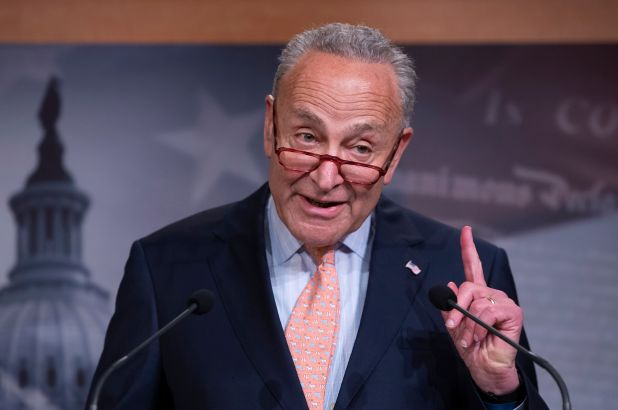 Chuck Schumer Warns Joe Biden on Border Policy: 'You've Got to Do Better'
