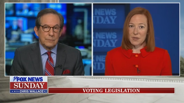 Chris Wallace Hits Jen Psaki with Facts On Media Blackout For Migrant Detention Facilities: 'Less Transparent Than the Trump Administration'