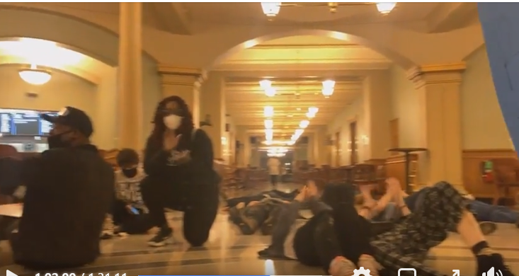 ARREST: [VIDEO)] BLM-New Black Panthers, Activists Storm Iowa Capitol With Intent To Harm, In Planned Organized Uprising