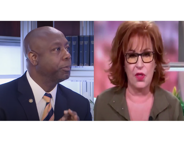 White Joy Behar Says Black Senator Tim Scott Doesn't Know the Difference Between 'Systemic Racism' and a 'Racist Country' [VIDEO]