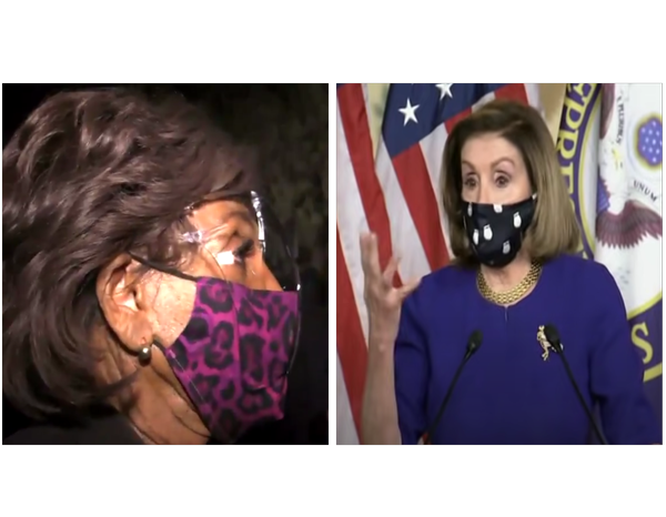 House Republican Leader Kevin McCarthy Pressures Speaker Pelosi To Take Action Against Maxine Waters For Inciting Violence